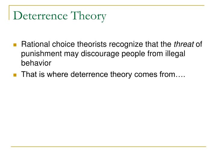 rationale choice and trait theory Rational choice theory is typically seen as the use of economic reasoning in contexts that were traditionally the concern of disciplines other contemporary rational choice theory represents a resurgence of such earlier efforts the efflorescence of such theory in our.