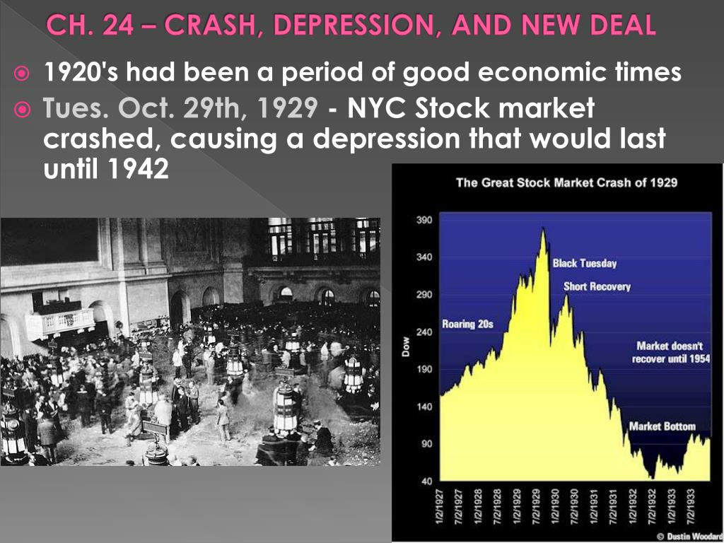 ch 24 crash depression and new deal l.