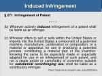 induced infringement