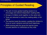 principles of guided reading