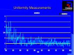 uniformity measurements7