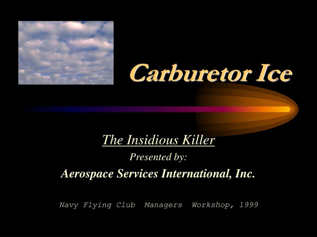 carburetor ice l.