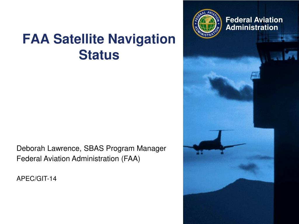 faa satellite navigation status l.