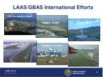 laas gbas international efforts