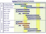 updated waas enterprise schedule
