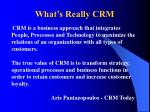 what s really crm