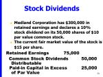 stock dividends73