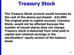 treasury stock38
