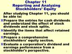 chapter 11 reporting and analyzing stockholders equity3