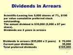 dividends in arrears27