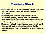 treasury stock20