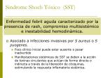 sindrome shoch t xico sst27