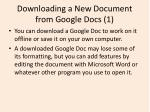 downloading a new document from google docs 1