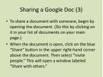 sharing a google doc 3