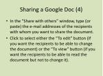 sharing a google doc 4