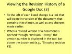 viewing the revision history of a google doc 3