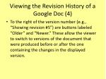 viewing the revision history of a google doc 4
