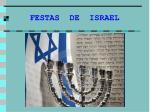 festas de israel