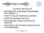 promoting literacy10
