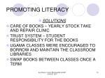 promoting literacy13
