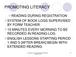 promoting literacy14