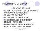 promoting literacy16
