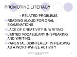 promoting literacy9