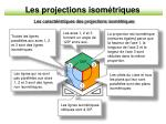 les projections isom triques10