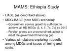 mams ethiopia study