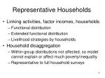 representative households11