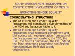 south african ngm programme on constructive involvement of men in promoting gender equality10