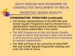 south african ngm programme on constructive involvement of men in promoting gender equality11
