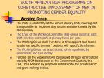 south african ngm programme on constructive involvement of men in promoting gender equality13