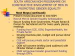 south african ngm programme on constructive involvement of men in promoting gender equality15