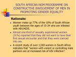 south african ngm programme on constructive involvement of men in promoting gender equality3