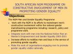 south african ngm programme on constructive involvement of men in promoting gender equality7
