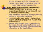 south african ngm programme on constructive involvement of men in promoting gender equality9