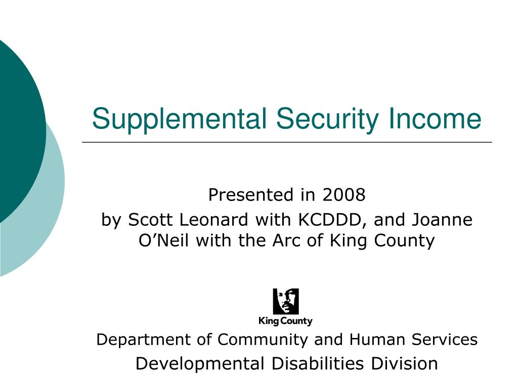 supplemental security income l.