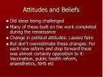 attitudes and beliefs51