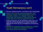 youth permanency con t
