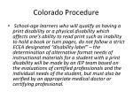 colorado procedure27