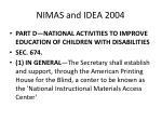 nimas and idea 200411