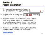 section 3 parent information22