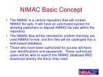 nimac basic concept
