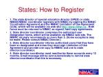 states how to register