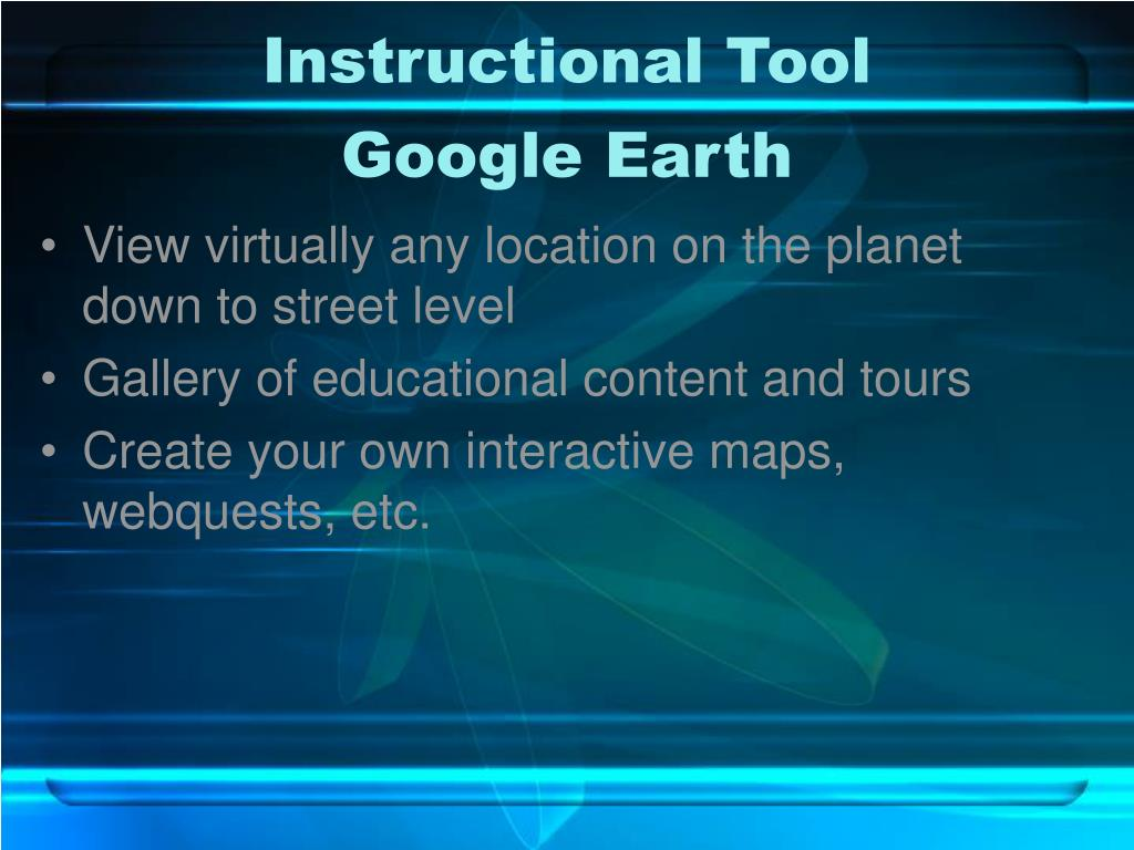 Instructional Tool