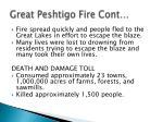 great peshtigo fire cont
