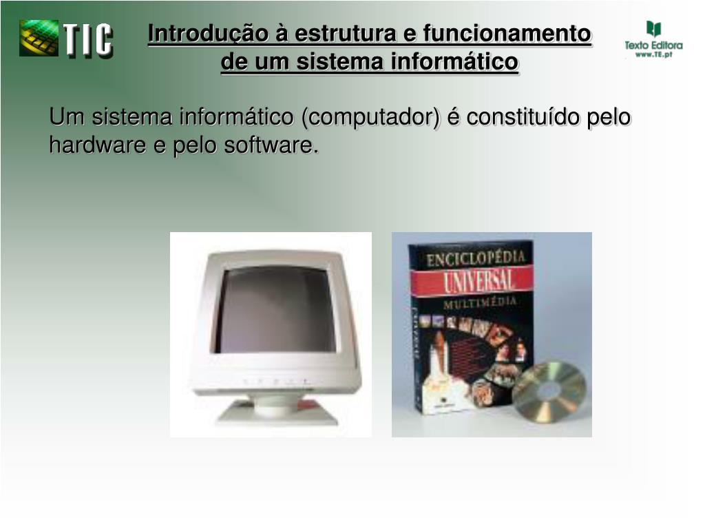 introdu o estrutura e funcionamento de um sistema inform tico l.