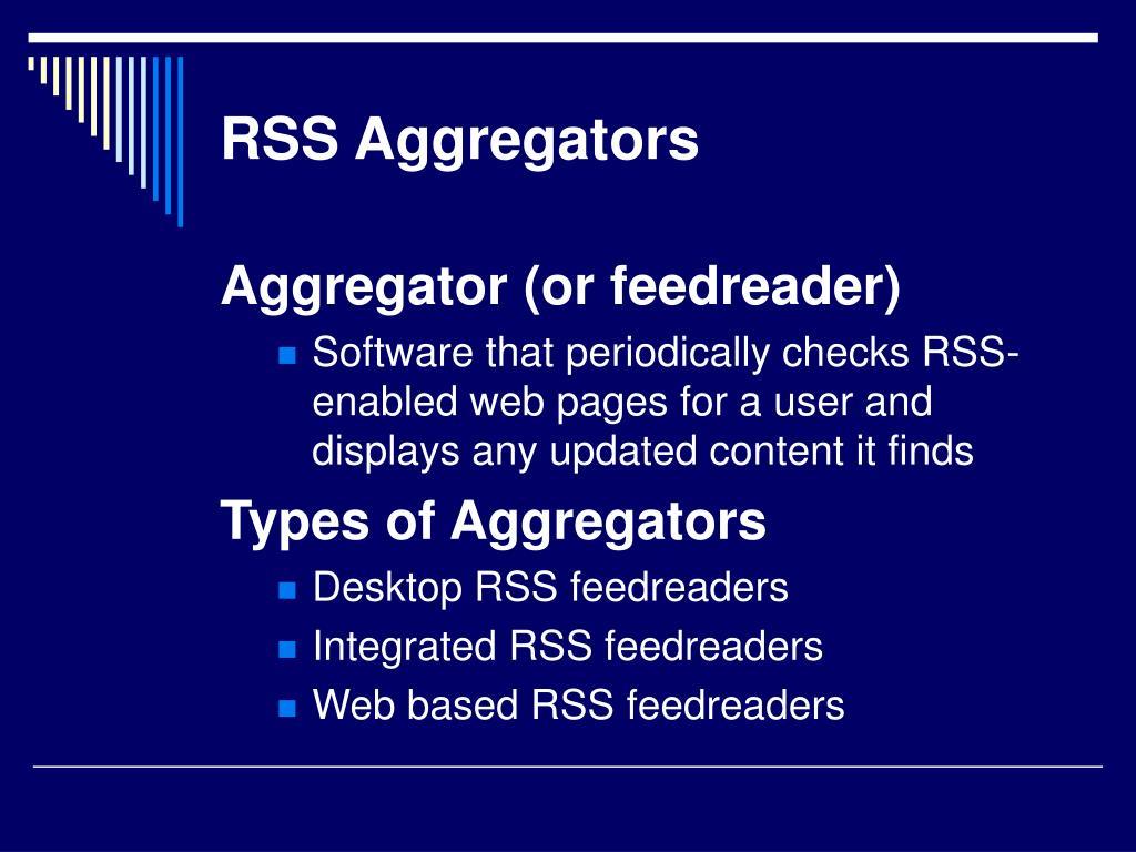 RSS Aggregators