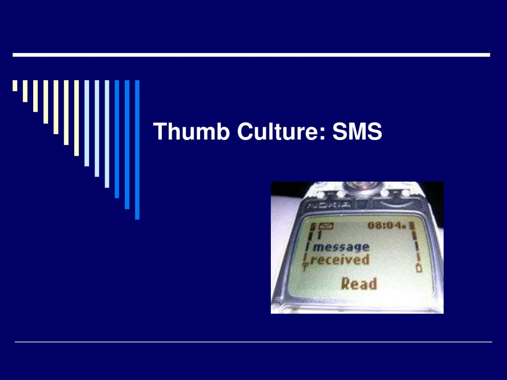 Thumb Culture: SMS